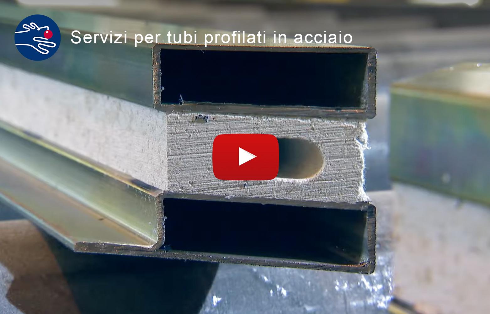 Tubi in acciaio profilati su misura